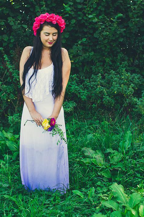 ombre dress tutorial wedding diy dye bespoke bride