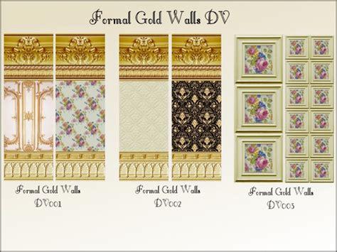 gold formal walls  floors  christine  mod