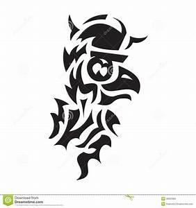 Dessin Symbole Viking : tatouage de viking d 39 oiseau illustration de vecteur image 48323365 ~ Nature-et-papiers.com Idées de Décoration