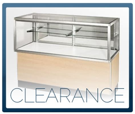 Glass Display Cases, Jewelry Showcases, Retail Wall