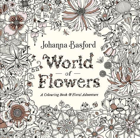 world  flowers  johanna basford penguin books australia