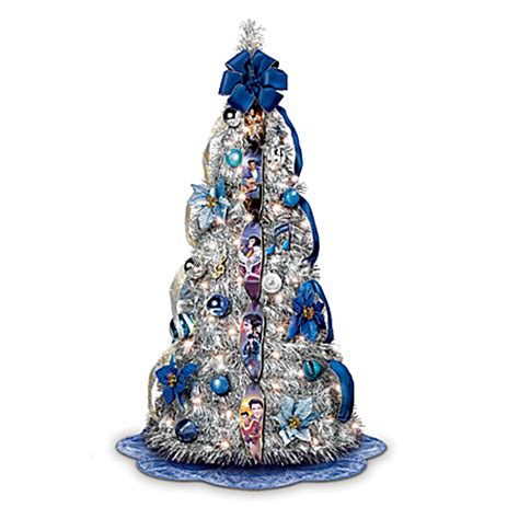 pull up christmas tree with lights the elvis blue christmas pull up christmas tree pre lit