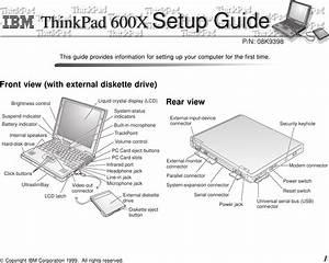 Ibm Thinkpad 600x Users Manual C79iemst