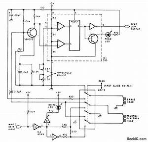 Digital Recording With Cassettes - Basic Circuit