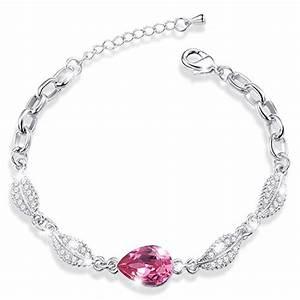 cadeau noel marenja cristal parure bijoux femme collier With bijoux cristal