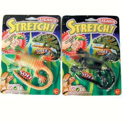 Assorted Color Super Stretch Novelty Realistic Lizards