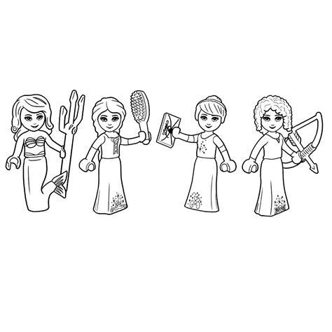 Gratis Kleurplaten Disney Prinsessen by Lego Disney Prinsessen Kleurplatenpagina Nl Boordevol