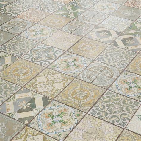 liberty floors aurora mm ornate botannical tile laminate