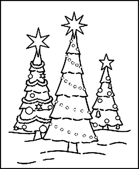 christmas tree coloring page  coloring home