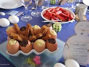 Dessert Paques Original : oeufs de p ques surprise dessert p ques vanille chocolat oeuf r cr ation culinaire ~ Dallasstarsshop.com Idées de Décoration