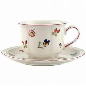 Tasse Petit Déjeuner : petite fleur tasse petit d jeuner avec soucoupe 2pcs ~ Teatrodelosmanantiales.com Idées de Décoration