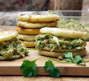 Reina Pepiada: Venezuelan Arepas Recipe with Chicken and ...