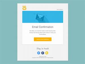 email template design by mara goes dribbble With designing an email template