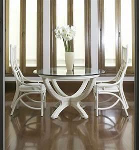 Plateau De Verre Pour Table : table rotin avec plateau verre brin d 39 ouest ~ Melissatoandfro.com Idées de Décoration