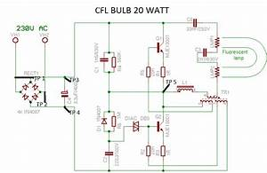 4 Pin Cfl Wiring Diagram