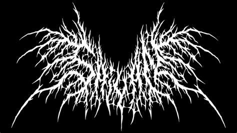 Logo generator metal name black Placeit