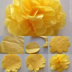 Papier De Soie Action : diy de jolies fleurs en papier de soie ~ Melissatoandfro.com Idées de Décoration