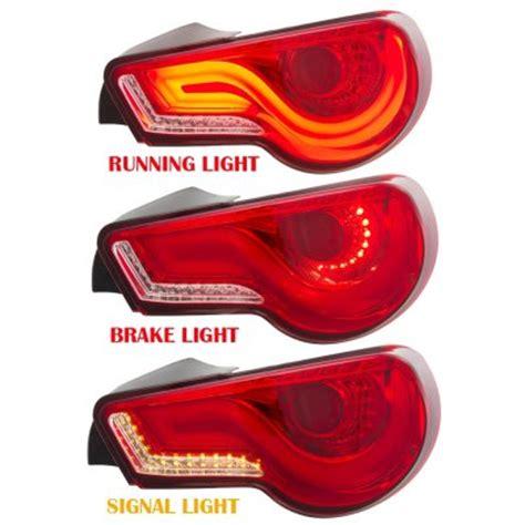 2015 brz tail lights subaru brz 2013 2015 jdm led tail lights red clear