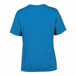 Custom Printed Sapphire Gildan 42000 Performance T Shirt