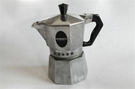 Vintage Italy Drip Coffee Maker Morenita Express 1960's Brazilian Coffee Bean Crossword Clue Canadian Owner 7 Days Slimming Original Nespresso Pods Environment Krups Machine Brazil Expo Outlets