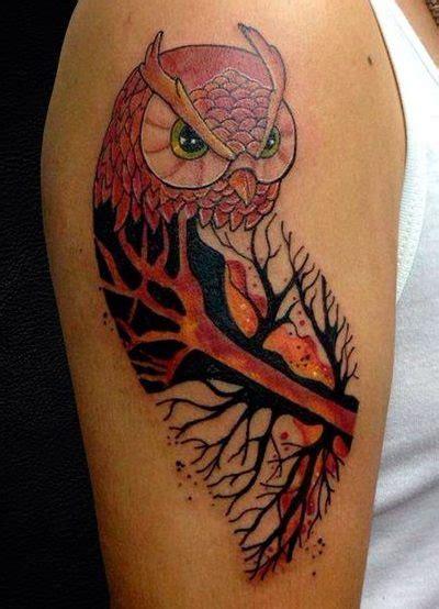 ideas exclusivas  tatuajes de buhos  lechuzas