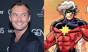 Jude Law joins Captain Marvel as mentor to Brie Larson's ...