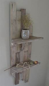 wall decor with shelving by artisanwood11 on etsy 9500 With kitchen cabinets lowes with diy pallet wall art