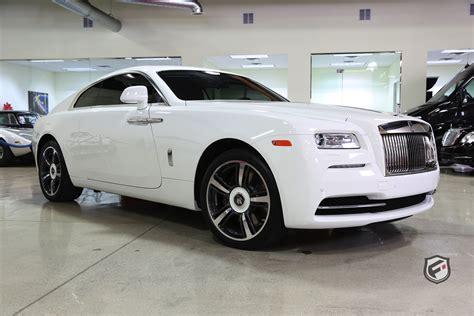 2015 Rollsroyce Wraith  Fusion Luxury Motors