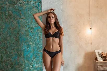 Through Lingerie Gap Belly Hips Clothing Wall