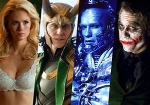 Ranking, The, 10, Best, And, 10, Worst, Villains, In, Superhero, Movies