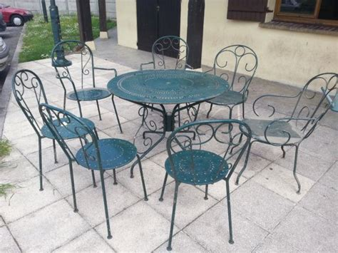 Salon jardin fer forge | Clasf