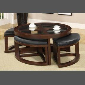 Coffee tables and ottomans both serve similar functions: Coffee Table With Pull Out Ottomans - Foter