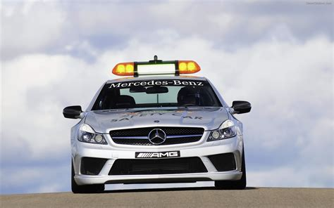 New systems and intensive dialogue. 2009 Mercedes Benz SL63 AMG F1 Safety Car Widescreen ...