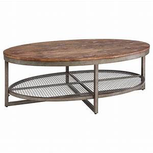 inkivy sheridan coffee table by ink and ivy coffee With oval industrial coffee table