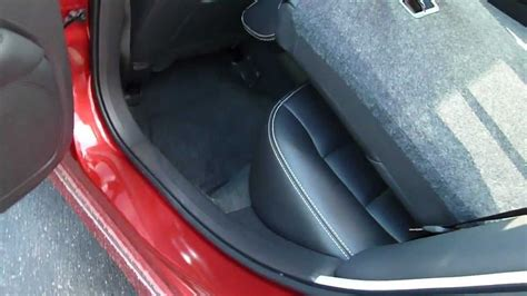 ford fusion trunk space cargo flexibility youtube