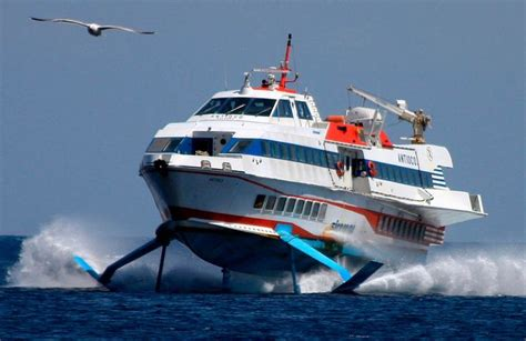 Hydrofoil Boat Pdf by Recent Of A Hydrofoil Ferry Boat In Italy Pics