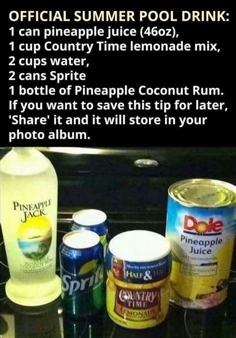 ideas  pineapple vodka drinks  pinterest