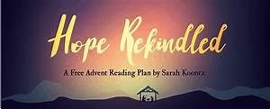 Week 4 Advent Reading : hope rekindled a free advent reading plan by sarah koontz ~ Haus.voiturepedia.club Haus und Dekorationen