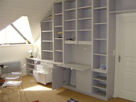 bibliotheque bureau menuiserie couronné cuisine salle de bain placard