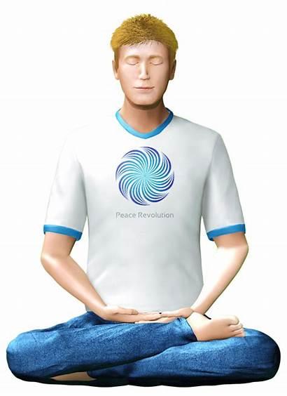 Meditation Peace Posture Perfect Position Meditate Steps