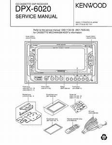 Service Manual   Kenwood Dpx