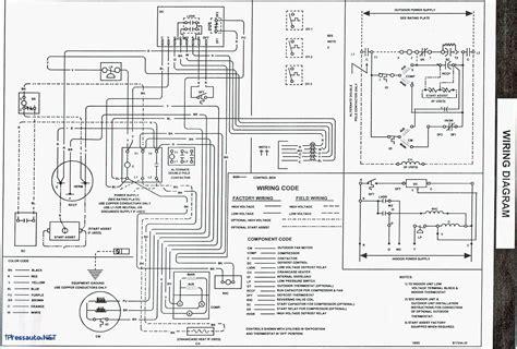Wiring Diagram For Ga Furnace by Goodman Furnace Wiring Diagram Gallery