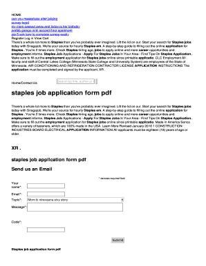 staples job application  fill  printable