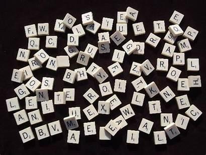 Scrabble Tile Tiles Ivory Faux Bone Letter