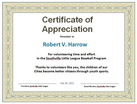 Certificate Of Appreciation Template 31 Free Certificate Of Appreciation Templates And Letters