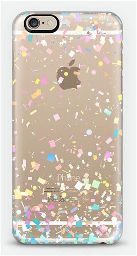 iphone 6 phone cases pastel confetti explosion transparent iphone 6 cases
