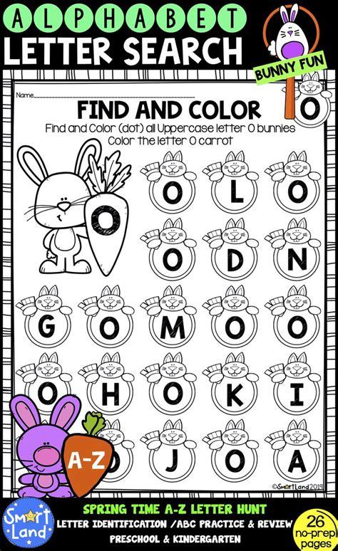 alphabet practiceletter searchbunnyfun