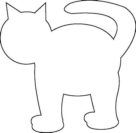 Cat Template Free Printable Cat Kitten Patterns Wow Image