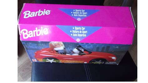 barbie red cars barbie red sports car 1996 collectable no 67532 gift to