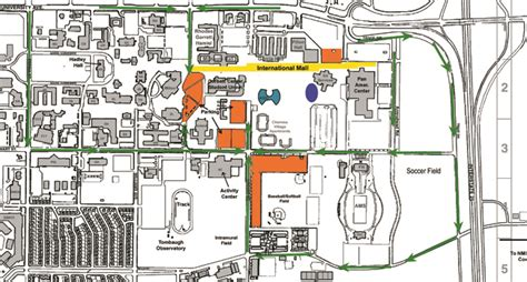 Nmsu Campus Building Map